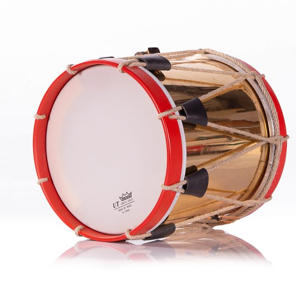 tambor de gaita de latón